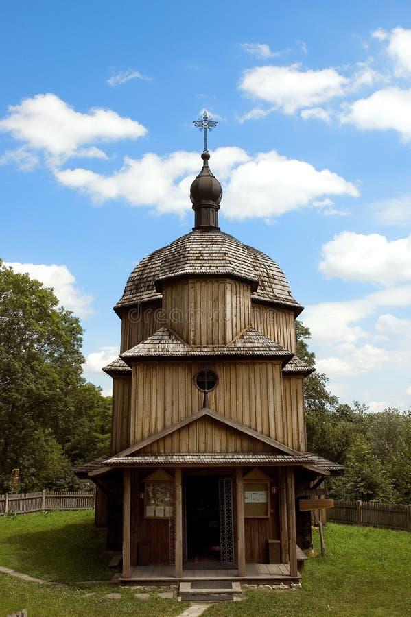 农村的教堂 免版税库存图片