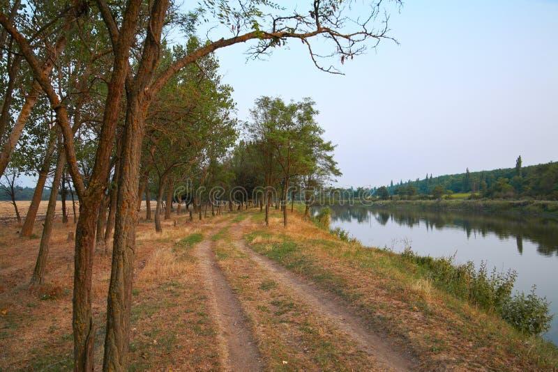 农村的横向 免版税库存图片