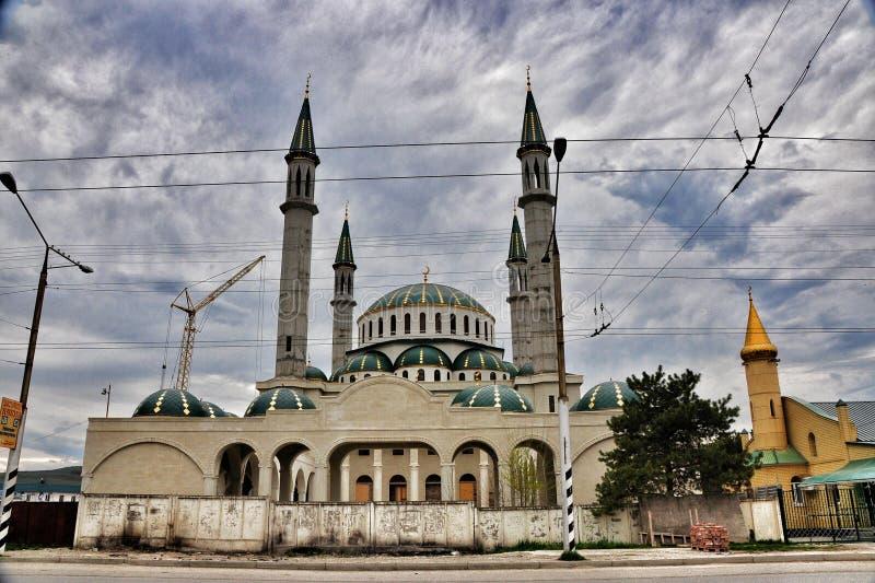 农村的清真寺 免版税库存图片
