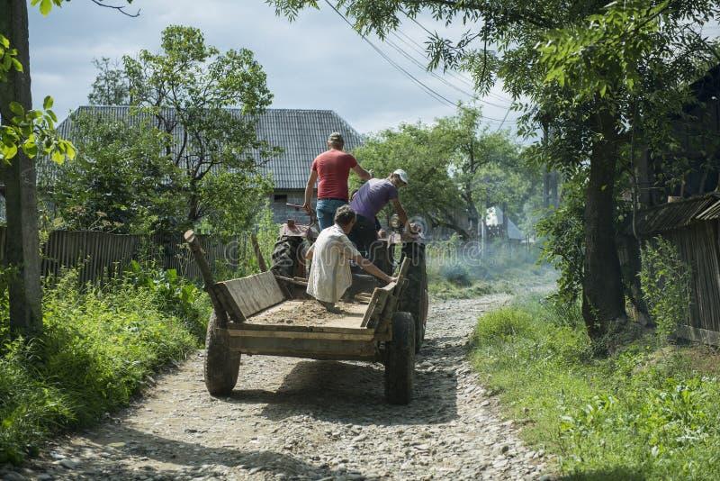 农村的生活 免版税库存图片