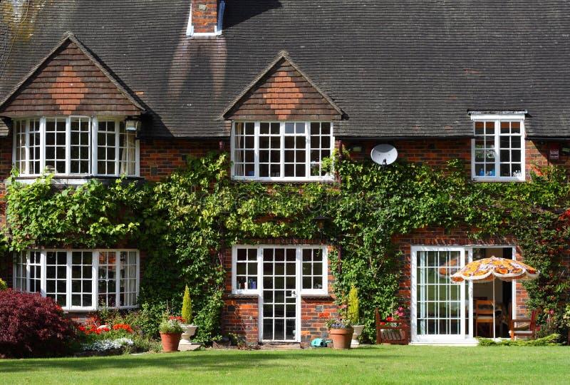 农村英国的房子 免版税库存照片