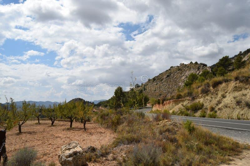 农村西班牙风景 免版税库存图片