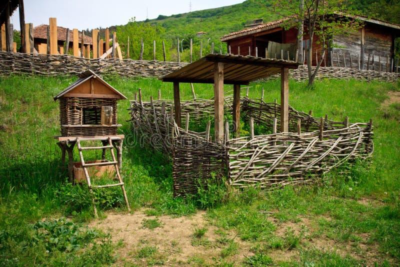 农村风景,第比利斯乔治亚 免版税库存照片