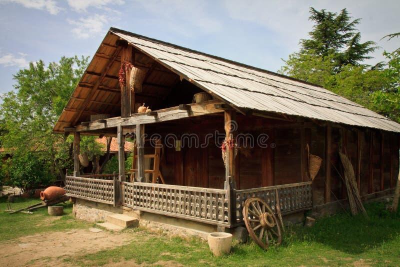 农村风景,第比利斯乔治亚 库存照片