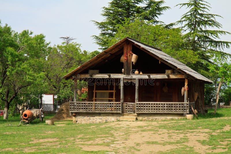 农村风景,第比利斯乔治亚 库存图片