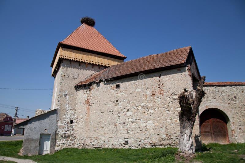 农民堡垒Drauseni 免版税库存照片