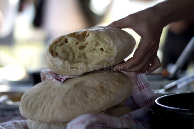 农民面包 图库摄影