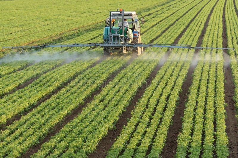 农用拖拉机 免版税库存图片
