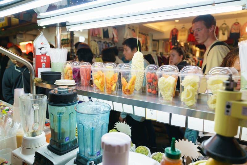 农贸市场台湾 图库摄影