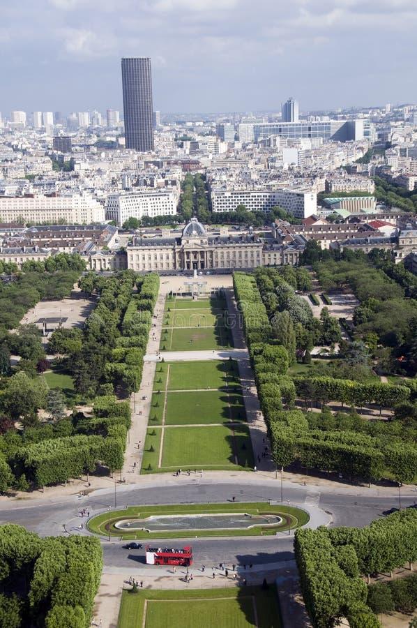 冠军de法国毁损巴黎公园 免版税库存图片