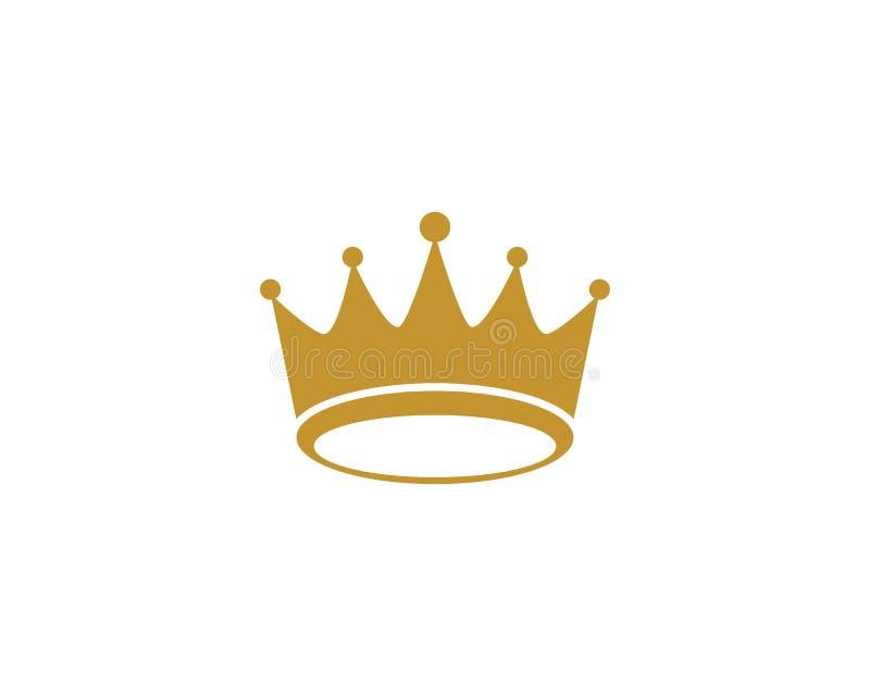 冠商标模板 向量例证