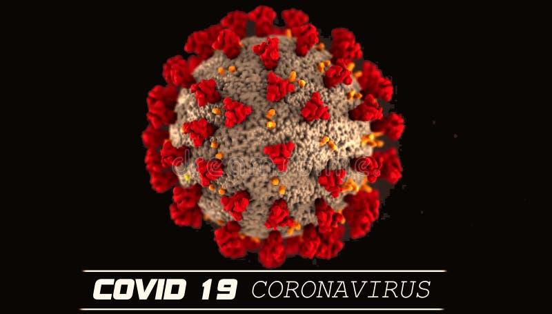 冠状病毒Covid 19全球警报文本爆发