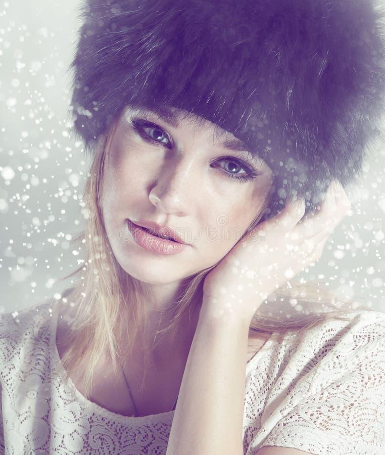 冬天。 免版税图库摄影