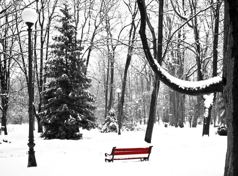 Download 冬天公园 库存照片. 图片 包括有 长凳, 平均, 下来, 过帐, 放松, 闪亮指示, 公园, 其它, 森林 - 30338498