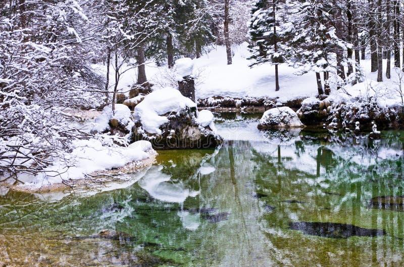 Download 冬天反射在萨瓦河 库存照片. 图片 包括有 季节性, 公园, 岩石, 季节, 早晨, 生态, beautifuler - 30331520
