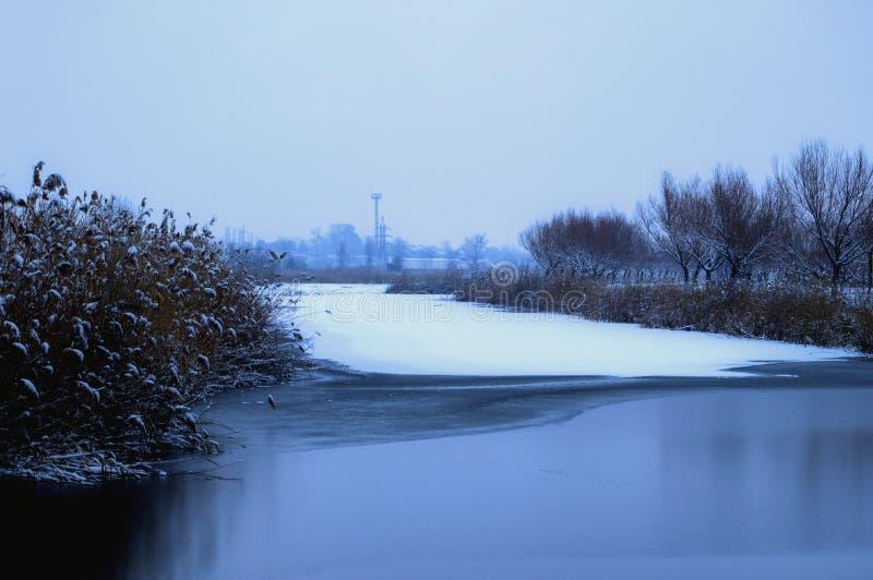 冬天在伊斯梅尔 图库摄影
