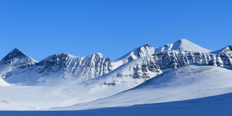 冬天在拉普兰 库存照片