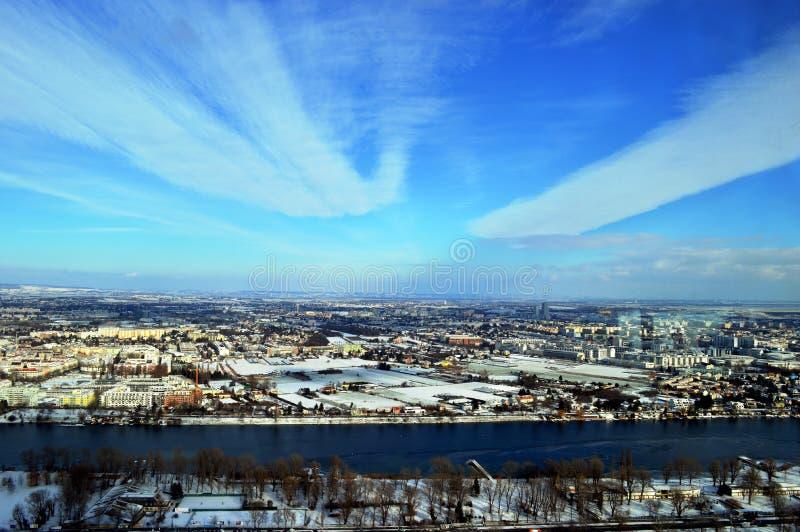 冬天在维恩 库存图片