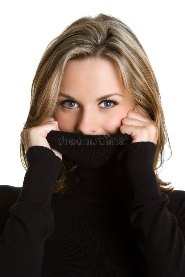 冬天妇女 库存图片