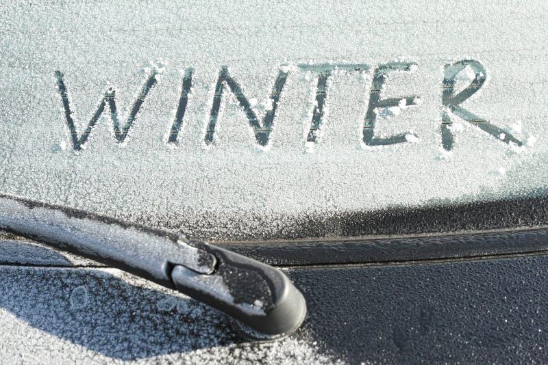 冬天季节 库存图片
