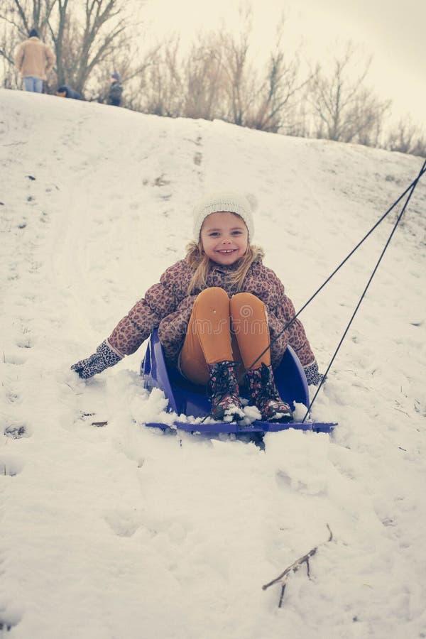 冬天是最佳的时期的使用外面 免版税库存照片