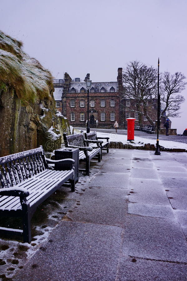 冬天爱丁堡II 免版税图库摄影