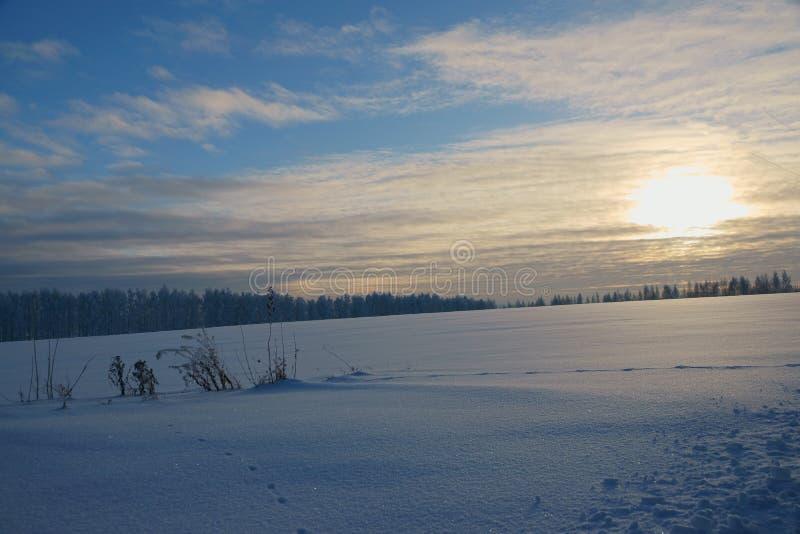 冬天的传说,俄罗斯的奇迹 免版税库存图片