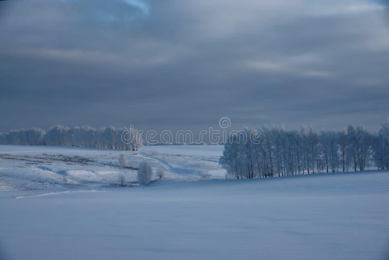 冬天的传说,俄罗斯的奇迹 免版税库存照片