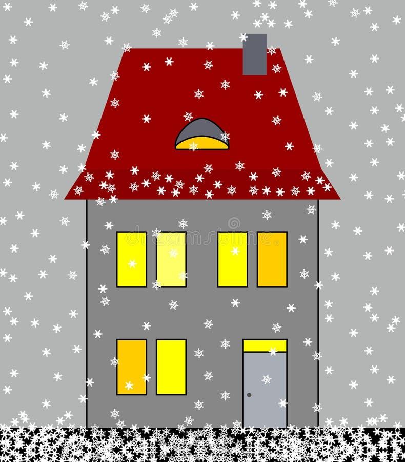 冬天 向量例证