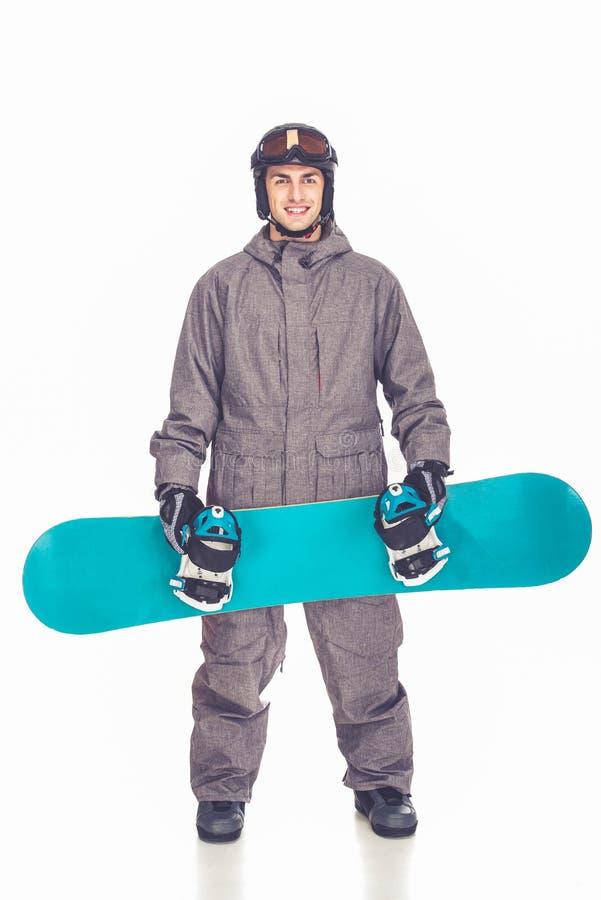 冬季体育,人 免版税库存照片