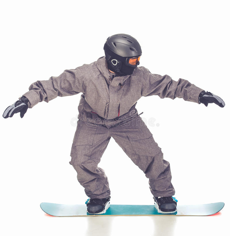 冬季体育,人 免版税库存图片
