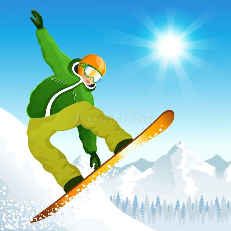 冬季体育 库存例证