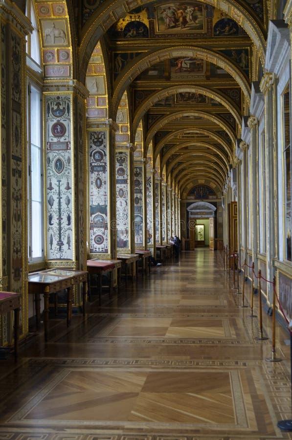 冬宫的走廊 库存图片