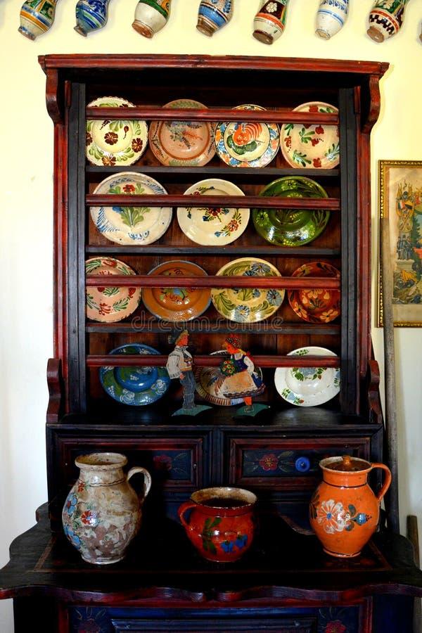 冯Brukenthal Palace男爵博物馆在阿夫里格,特兰西瓦尼亚 库存图片