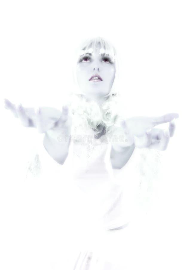 冰公主 图库摄影