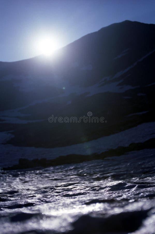 冰冷的层 库存照片