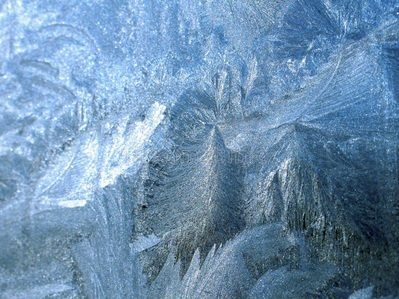冰冷的模式 免版税库存照片