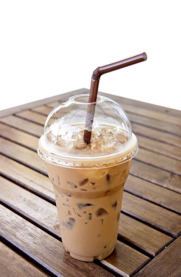 冰在表的Mocca咖啡 库存图片
