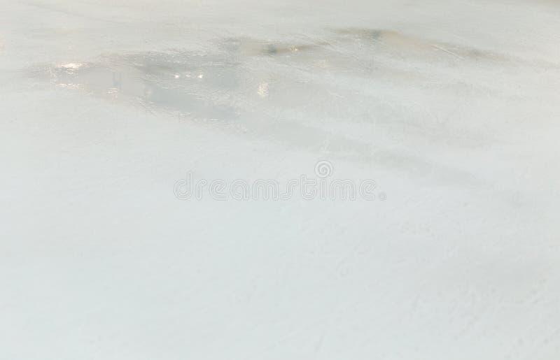 滑冰场背景 库存图片