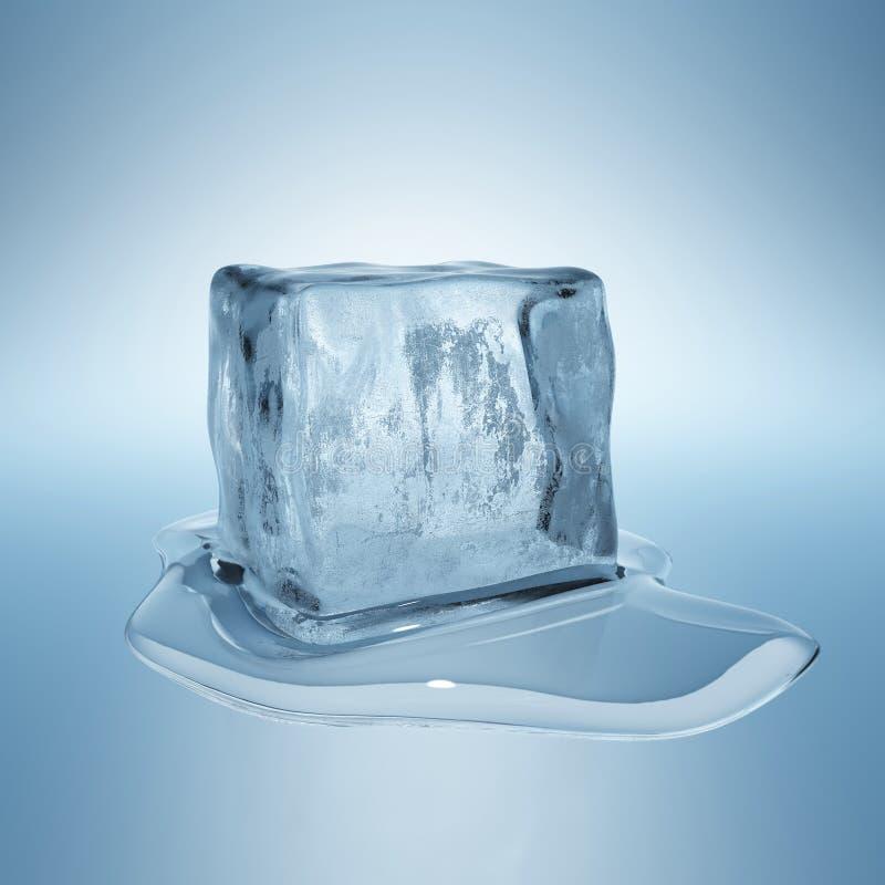 冰块 库存例证