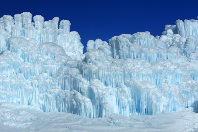 冰城堡。 库存图片