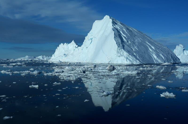 冰山在格陵兰3 免版税库存图片