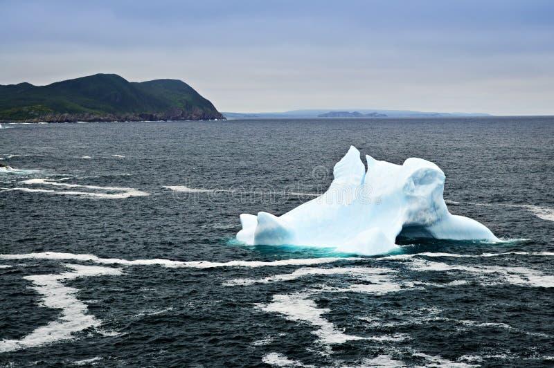 冰山熔化 免版税库存照片