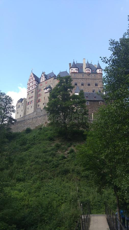 冰山eltz城堡 图库摄影