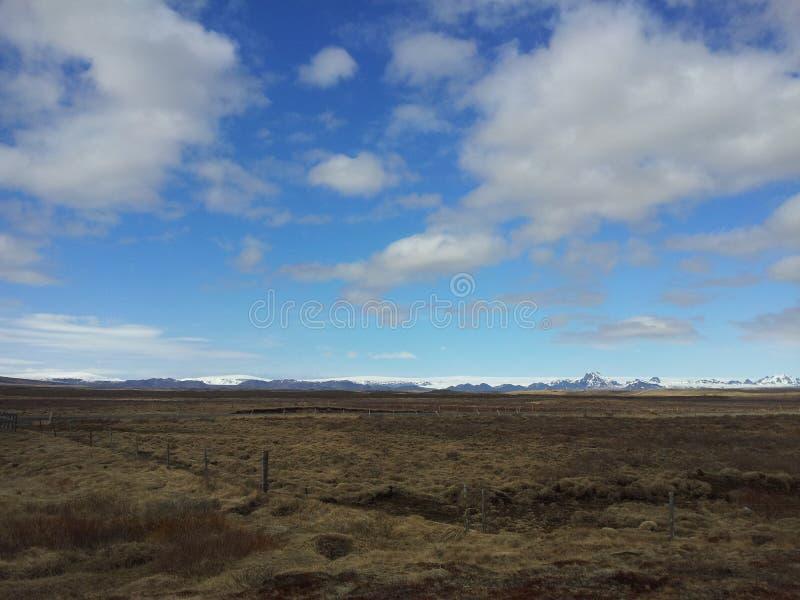 冰岛秋天 库存照片