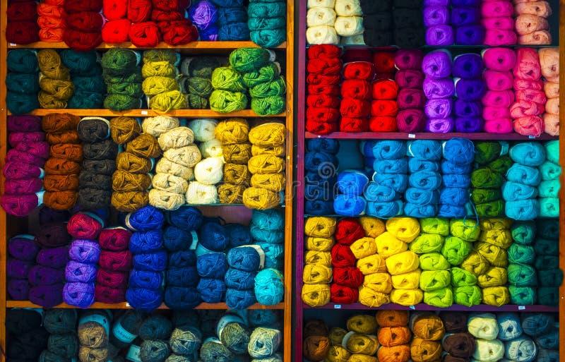 冰岛羊毛 库存图片