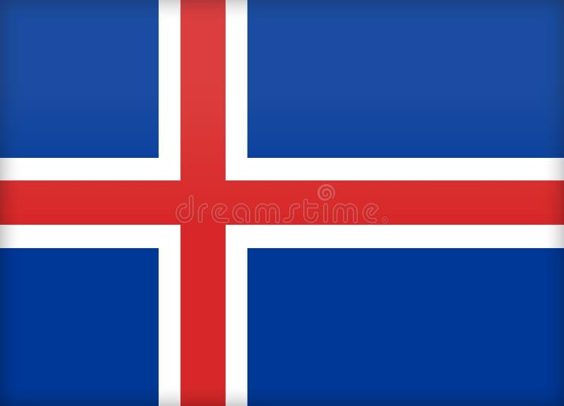 冰岛 皇族释放例证