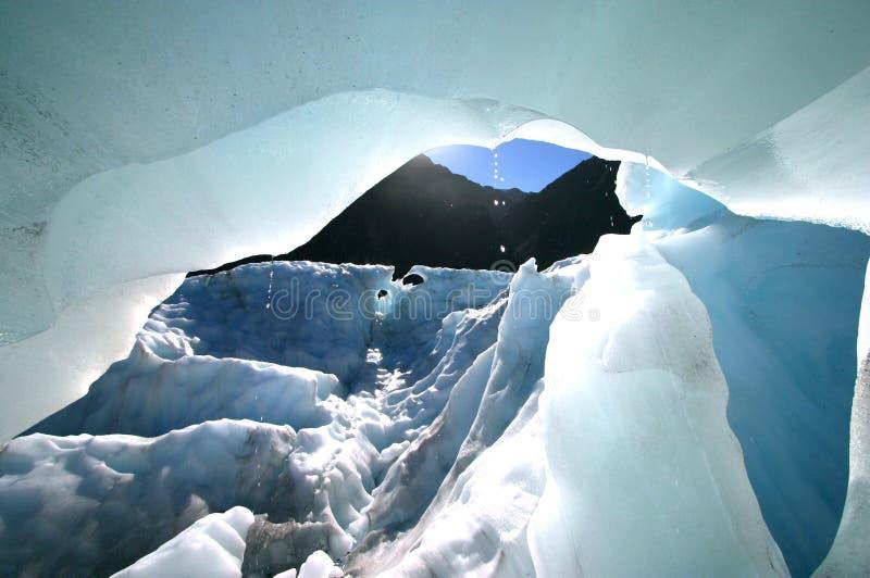 冰川冰熔化 免版税库存照片