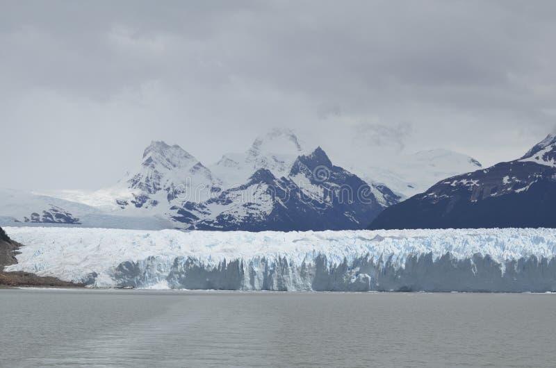 冰川和全球性变暖埃尔卡拉法特巴塔哥尼亚的阿根廷佩里托莫雷诺 库存图片