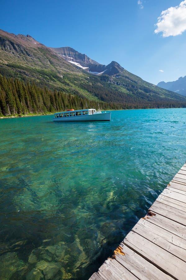 冰川国家公园,蒙大拿 免版税库存图片